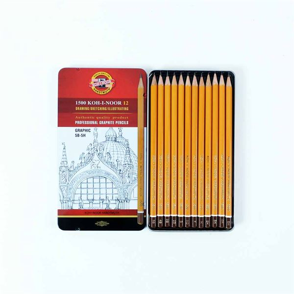 DAP12MA Graphic Pencil Set 5B-5H