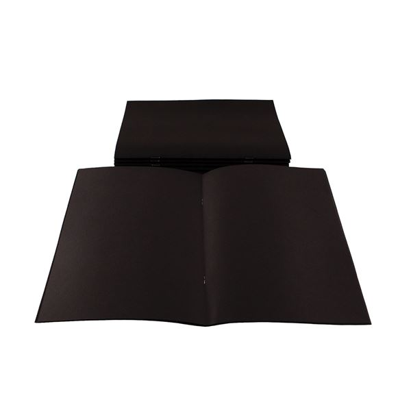 A4 All Black Starter Sketchbook STA4BCB