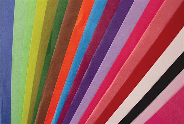 Tissue Paper, 100 Sheet Pack, 20 Colour Mix PPTISM