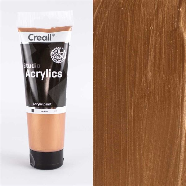 PTACM250B Bronze Acrylic Paint 250ml
