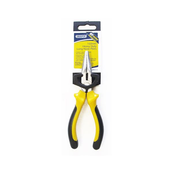 Draper 160mm Heavy Duty Long Nose Pliers MODLNP16