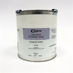 White Oil Paint - 1lt Tin