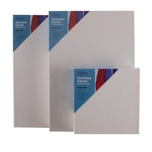 made in UK Stretched artis Canvas by Seawhite 1.5cmm deep Blank Canvas A4