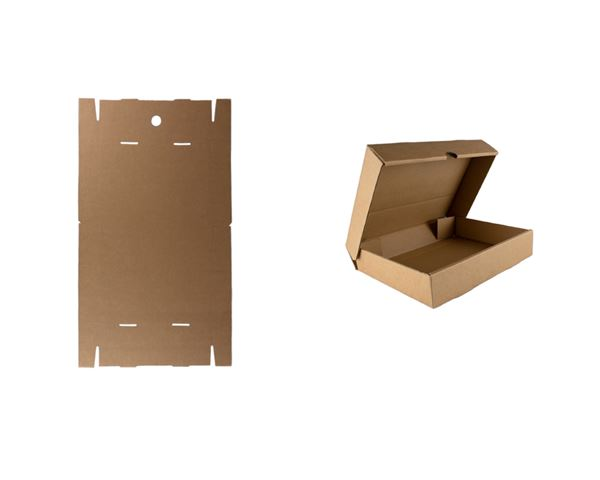 Flat-pack A5 storage box