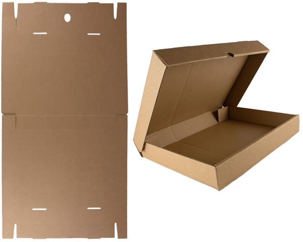 Flat-pack A3 storage box