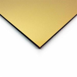 3mm Acrylic Metallic Gold 1000 x 500mm Sheet ACR31MG