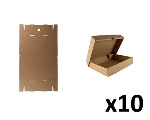 Flat-pack A5 storage box x10pk