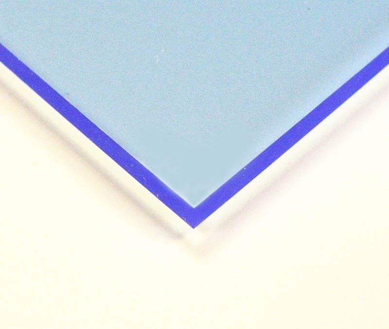 3mm Fluorescent Acrylic Sheet 100 x 50cm