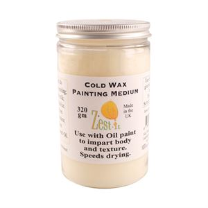 Zest It Cold Wax Oil Painting Medium 320ml PTZCWM