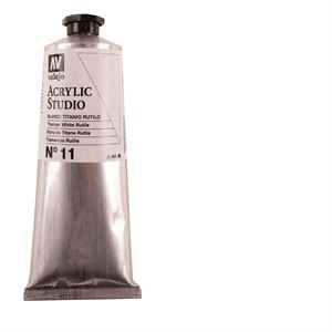 Vallejo Acrylic 125ml Tube - Titanium White PTAV125TW