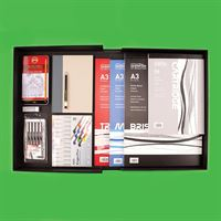 Graphics & Illustration KIT09 - Displayed in Archival Box
