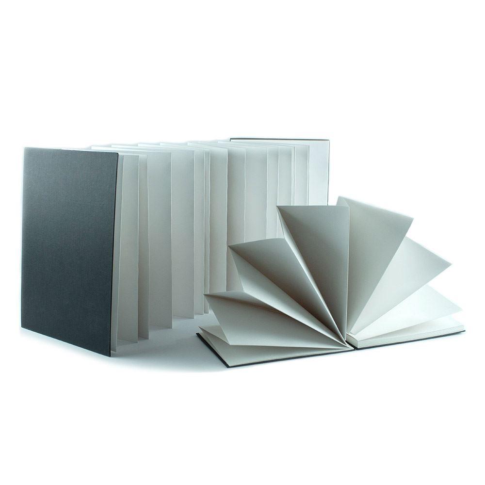 A4 Concertina Sketchbook 140gsm Paper 70 Pages