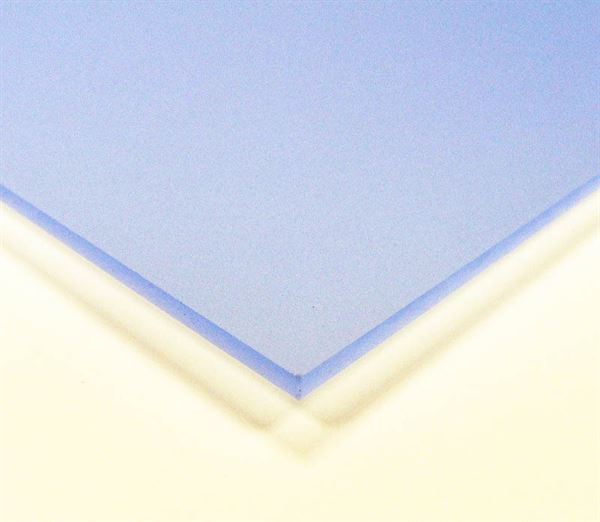 Electric Blue 3mm Frosted Acrylic Sheet A3 ACR3FRBL
