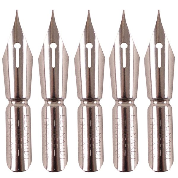 Drawing Nibs x5, Copperplate, Size 2 DACNIB111