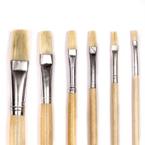 Hogs' Hair Educational Flat Brushes - SINGLES