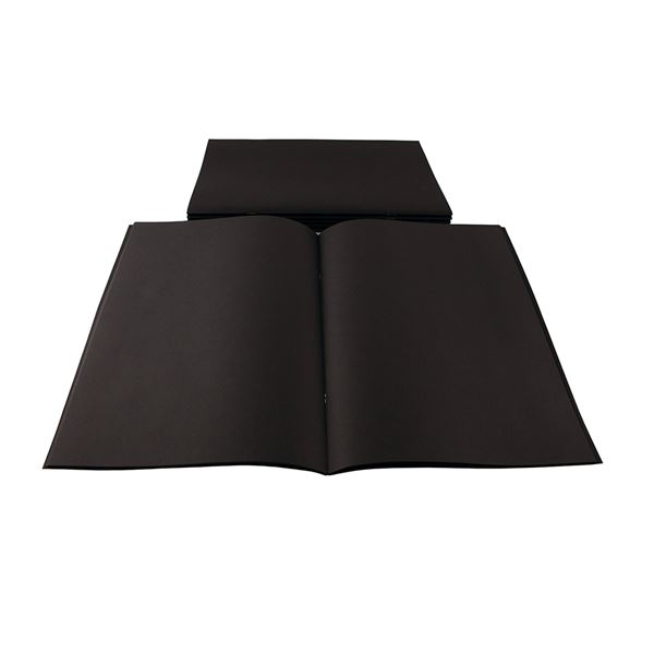 A3 All Black Starter Sketchbook STA3BCB